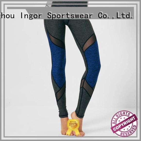 Custom plain yoga pants printed INGOR