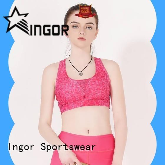 INGOR womens high impact sports bras for running on sale for girls