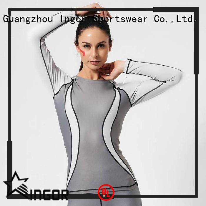 INGOR women ladies sweatshirts to keep you staying clean and dry for sport