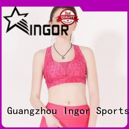 INGOR soft high impact padded sports bra on sale for girls