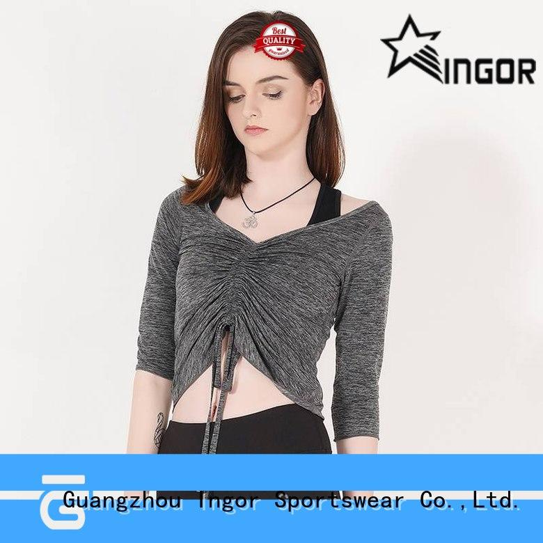 INGOR shirts ladies sweatshirts with high quality for girls