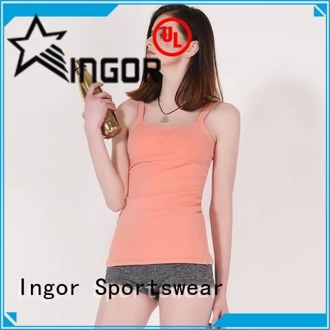 INGOR tank tops for women with racerback design for yoga