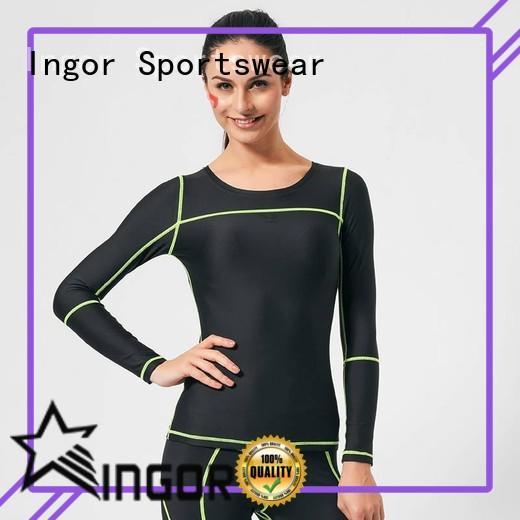 breathable ladies grey sweatshirt with drawstring design for women INGOR