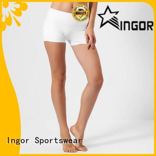 INGOR waisted womens shorts with high quality for yoga