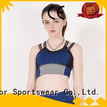 colorful sports bras blue top Warranty INGOR