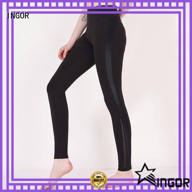 INGOR black and white yoga leggings on sale at the gym