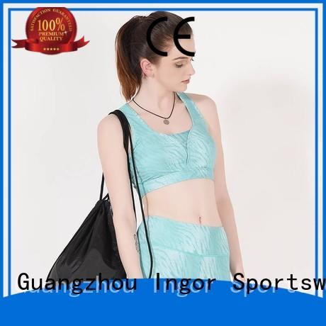 purple Custom strap companies sports bra INGOR front