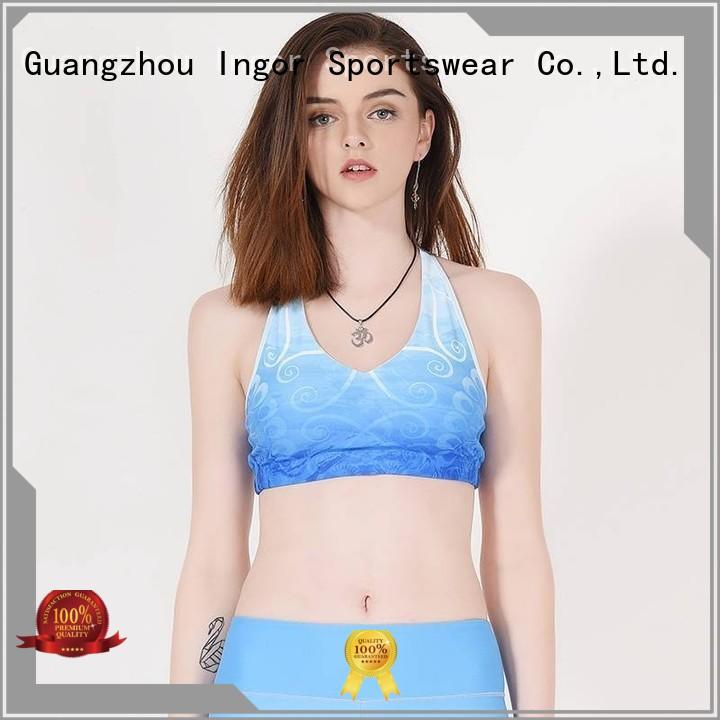 sexy seamless strapless bra to enhance the capacity of sports for girls INGOR