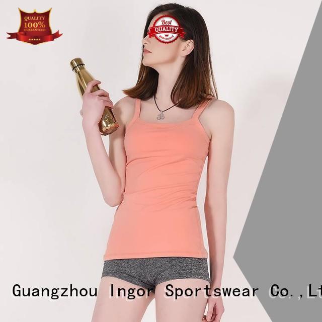 criss shirts lycra women's workout tank tops INGOR Brand