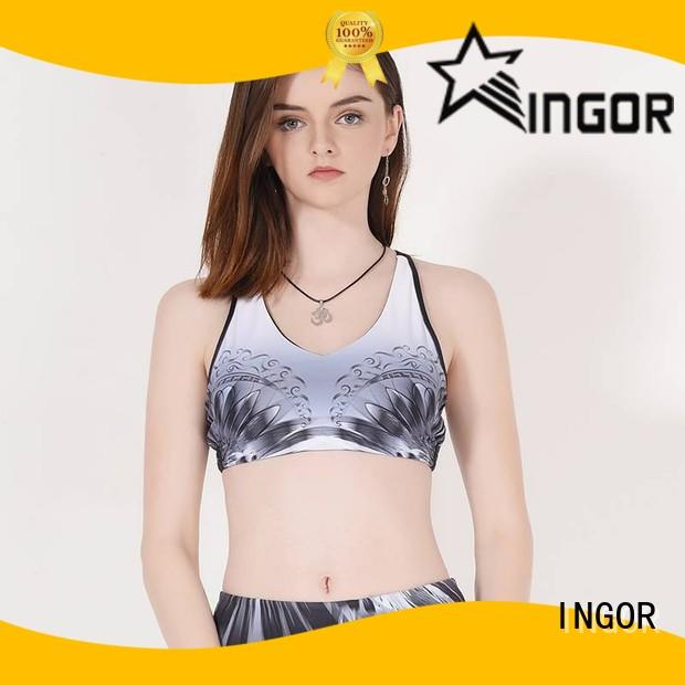 breathable compression sports bra companies to enhance the capacity of sports for girls