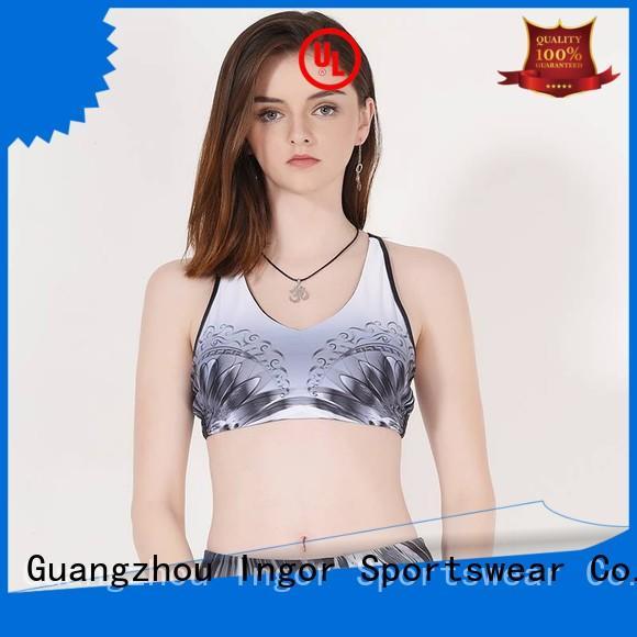 INGOR Brand sports wireless running sports bra manufacture