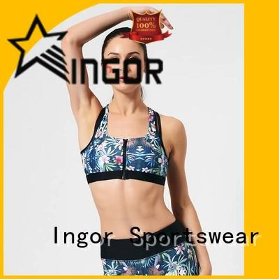 sexy compression sports bra companies to enhance the capacity of sports for girls