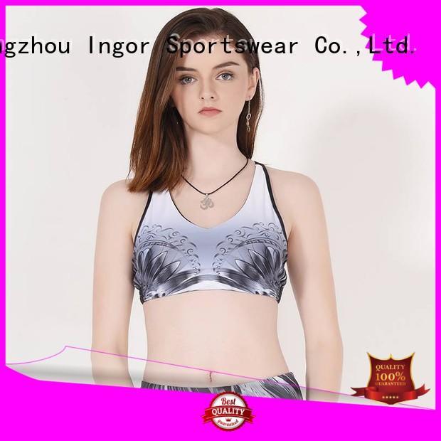 impact patterned INGOR Brand sports bra