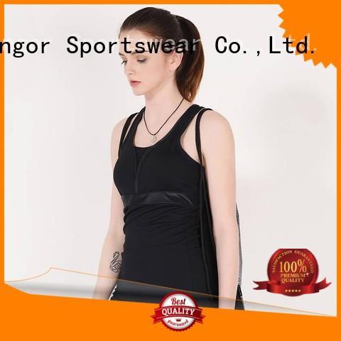 sports mesh running tank top INGOR
