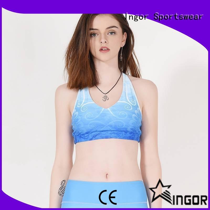 INGOR custom compression sports bra to enhance the capacity of sports for ladies
