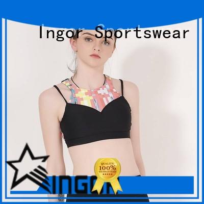 INGOR companies padded sports bra to enhance the capacity of sports for women