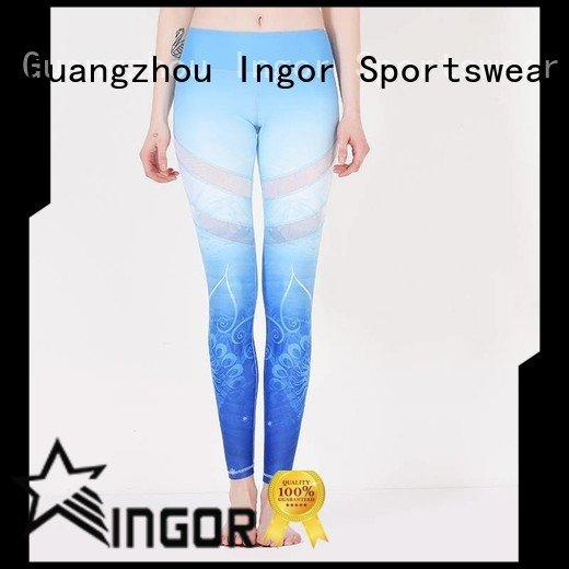 ladies leggings  brands plain INGOR Brand yoga pants