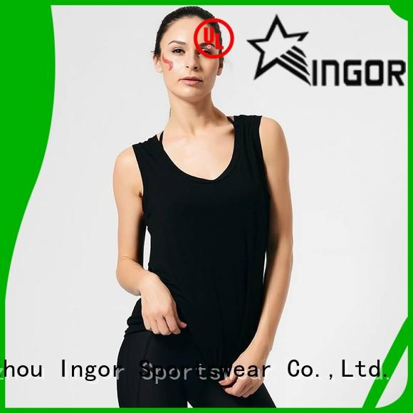 INGOR personalized tank top with racerback design for women