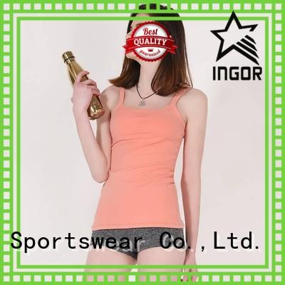 workout women yoga INGOR Brand women's workout tank tops factory
