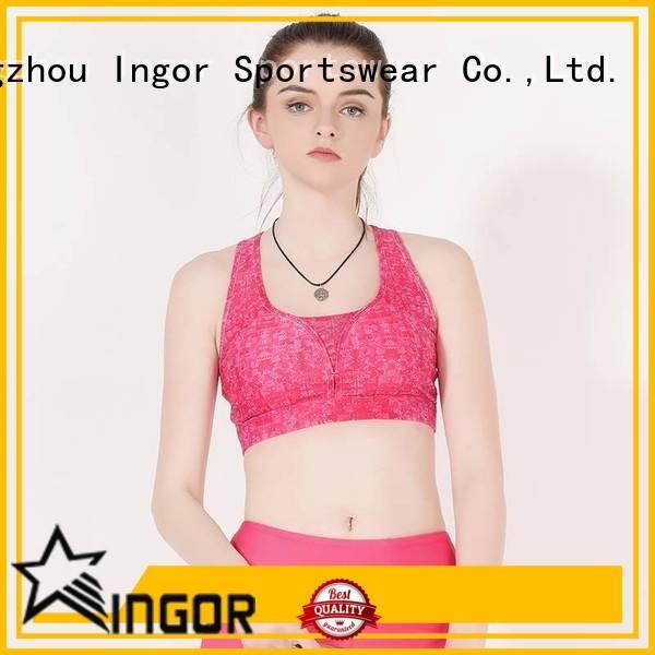INGOR sexy women's sports bra ingor at the gym