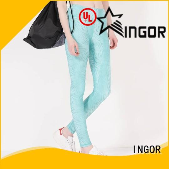 INGOR yoga pants with high quality for girls