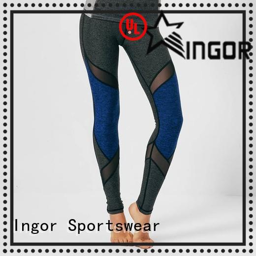 INGOR durability tie yoga leggings on sale for women