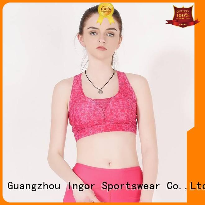 colorful sports bras sexy blue INGOR Brand sports bra