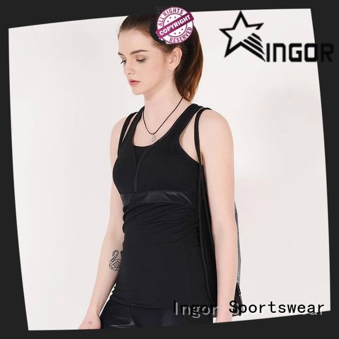 INGOR fashion crop tank with high quality for girls