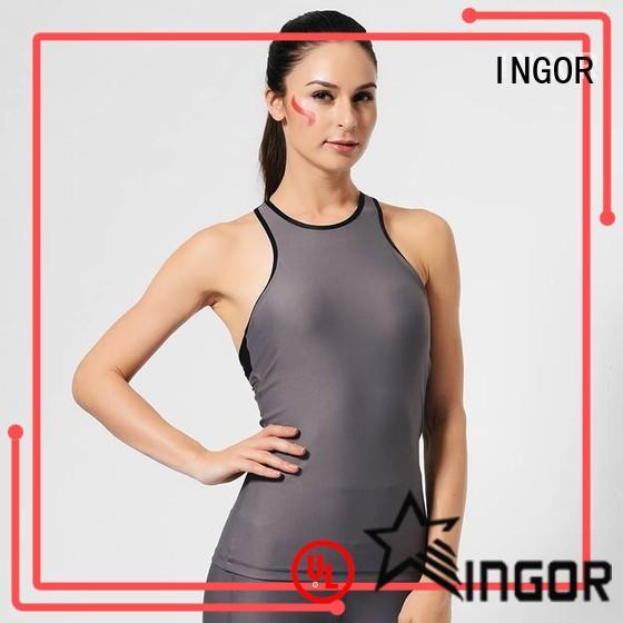 INGOR summer tank tops for women with racerback design for yoga