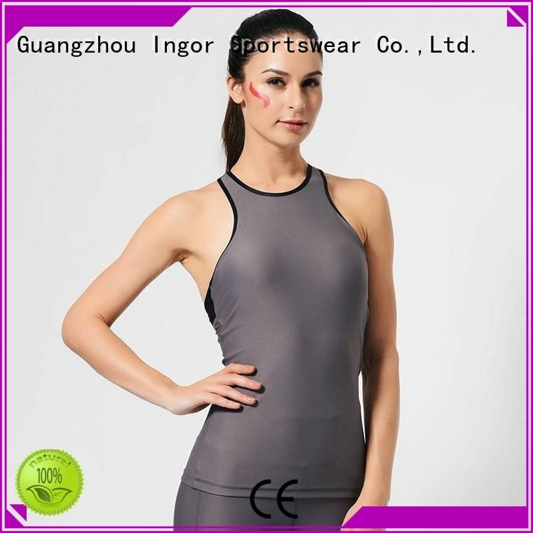 INGOR Brand womens tank top workout factory