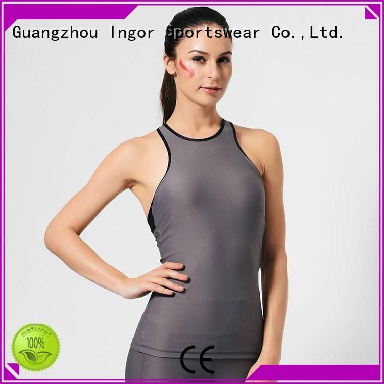 INGOR Brand womens tank top workout factory