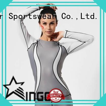 Long yoga sports sweatshirts shirts GRC16004