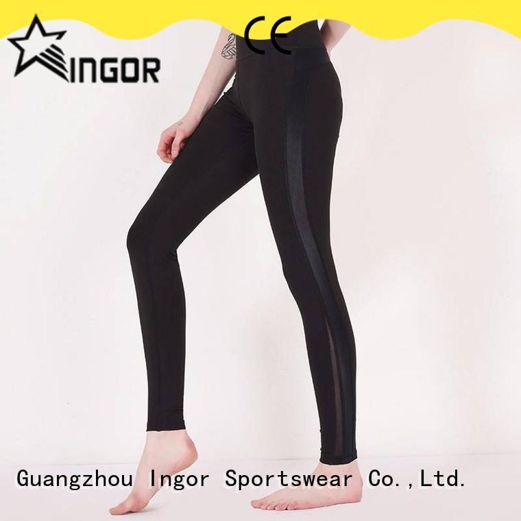 INGOR convenient camo yoga leggings on sale for ladies