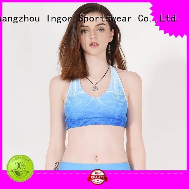 strappy bra ingor sports bra purple INGOR