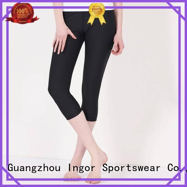 tights blue yoga pants INGOR Brand