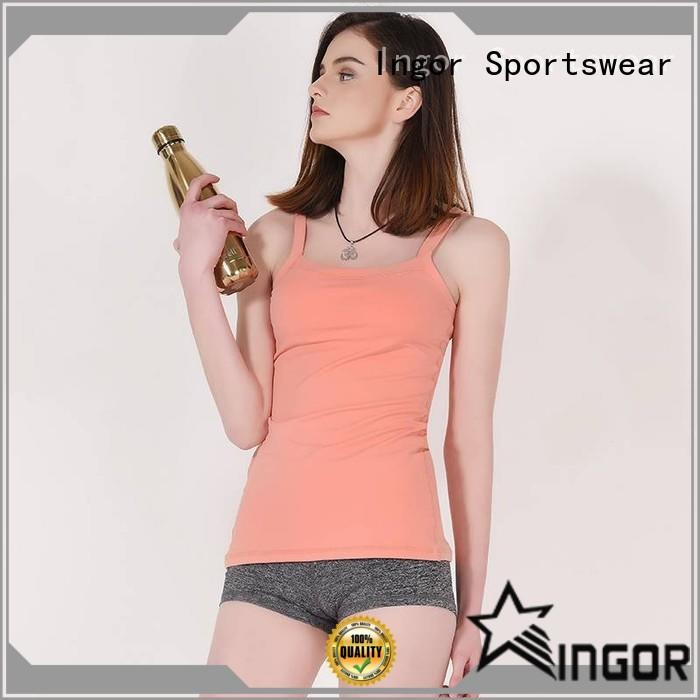 Women lycra tight tank top GYV15002