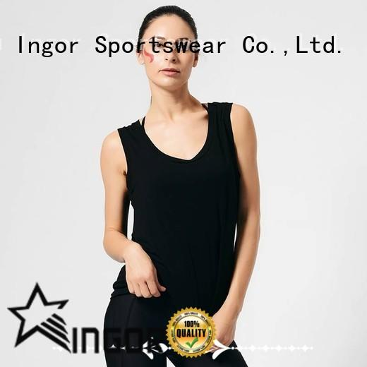 INGOR tops tank top with high quality at the gym