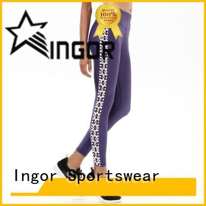 INGOR yoga capris tight for yoga