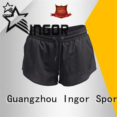 personalized wholesale women's shorts running with high quality for girls