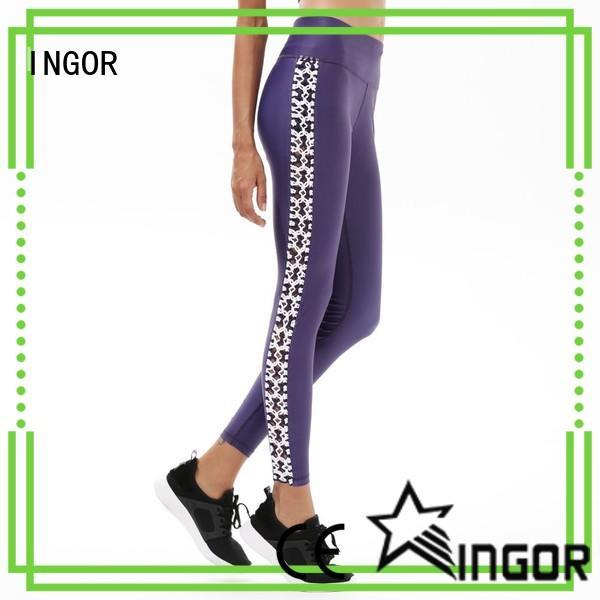 INGOR gray yoga leggings on sale for ladies