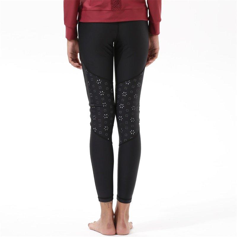 INGOR Yoga Black Leggings For Women Y1921P22 Leggings image6