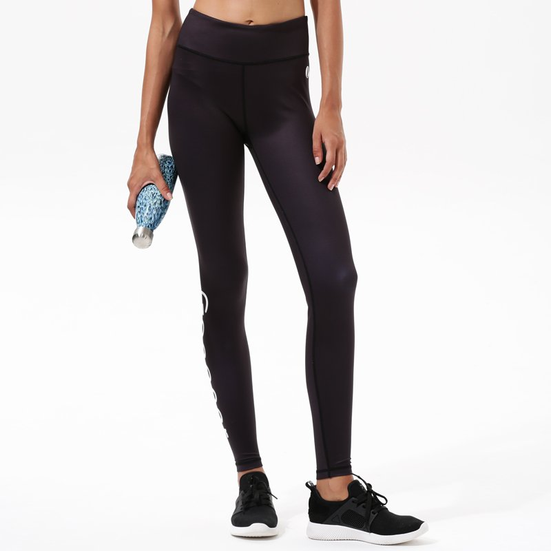 INGOR Black Yoga Exercise High Waisted Leggings Y1921P14 Leggings image4