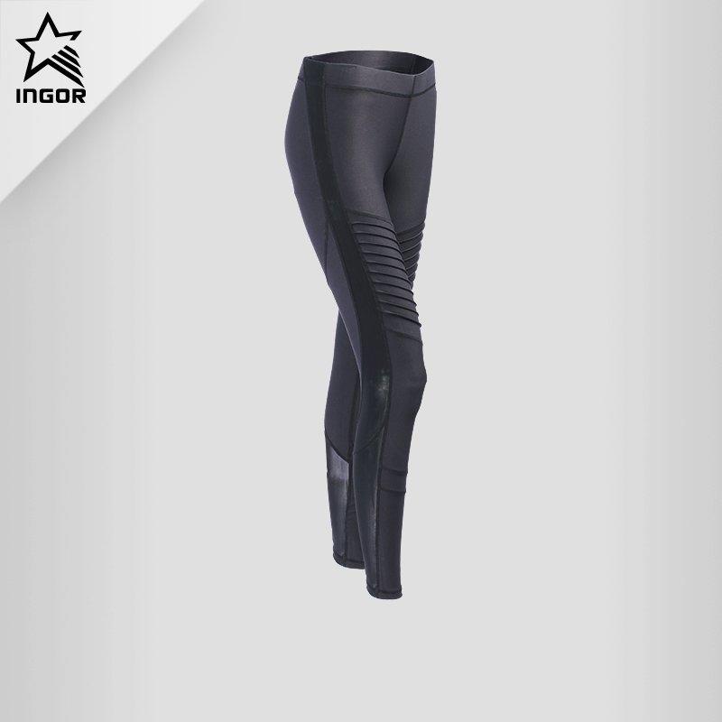 Women High Waisted Black Yoga Tights Leggings Pants JK11P021