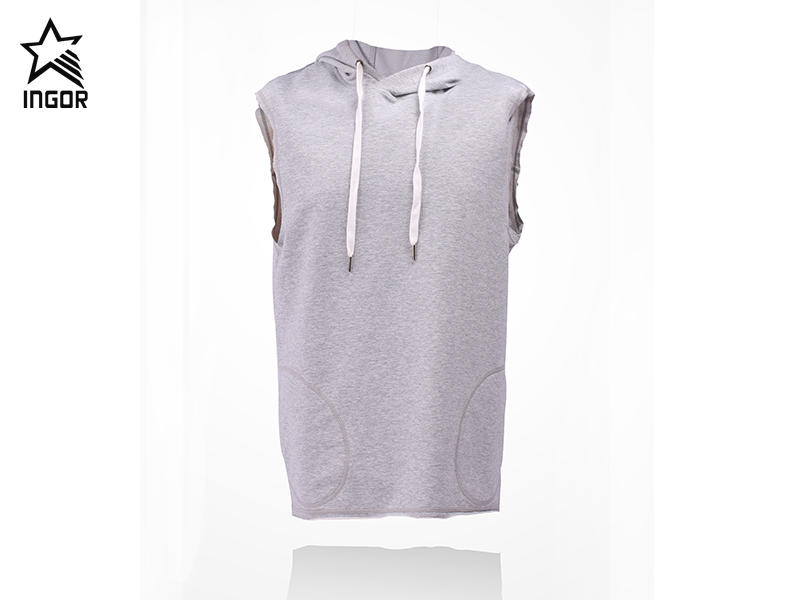 hoodies for men with sleevless JK12T008