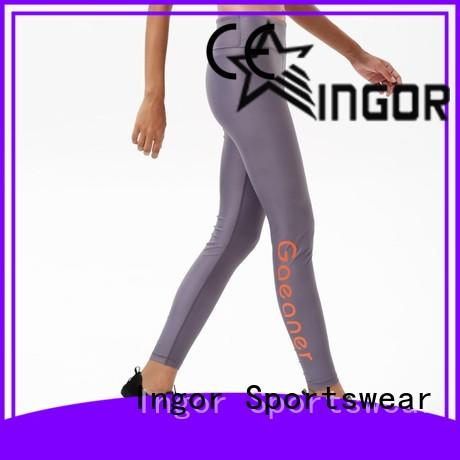 durability tie yoga leggings workout with high quality at the gym
