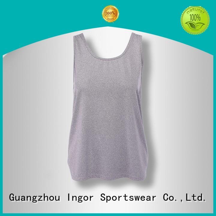 INGOR Brand criss womens women's workout tank tops