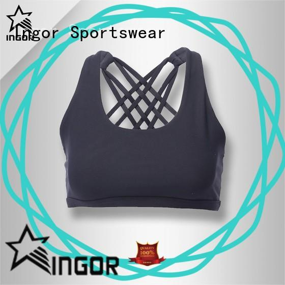 INGOR back supportive sports bras with high quality for women