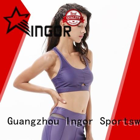 INGOR soft sports bras uk with high quality at the gym