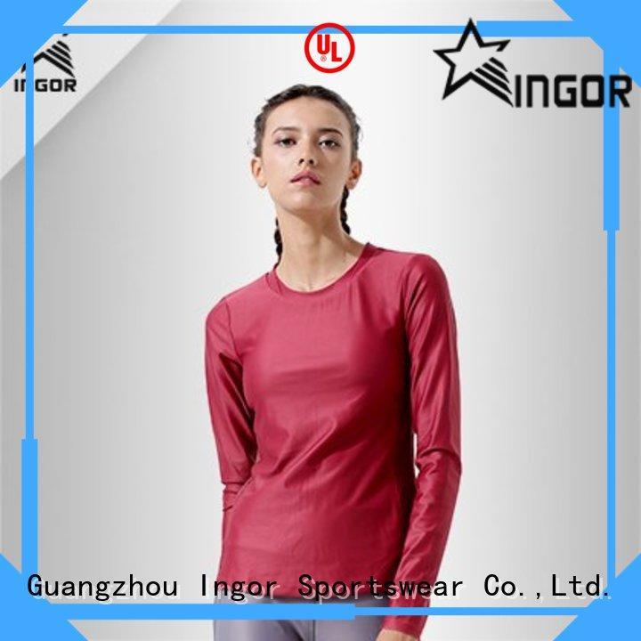 sports ladies hoodies and sweatshirts sleeve for women INGOR