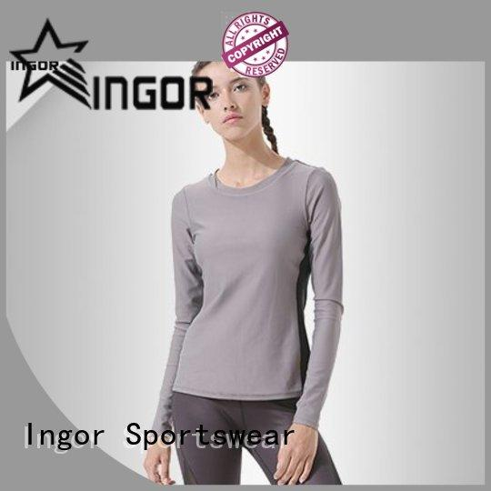 INGOR design colorful sweatshirts with high quality for girls